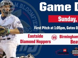 Eastside Diamond Hoppers vs. Birmingham-Bloomfield Beavers