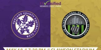 Oaklanmd County FC soccer game May 18th 2019