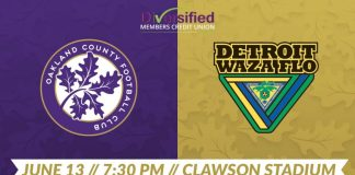 LIVE: UPSL Oakland County FC hosts Waza FC June 13th, 7:30pm Eastern