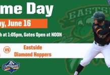 Eastside Diamond Hoppers vs Utica Unicorns on 6/16/2019