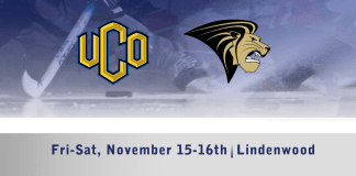 UCO Men's D1 hockey vs Lindenwood Nov. 15-16th
