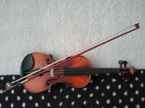 "© Golnaran, ""Violin and polka dots"", Resized, original size: 2560×1920 pix, 2014."