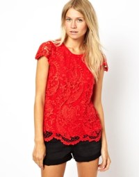 Oasis Lace Tee