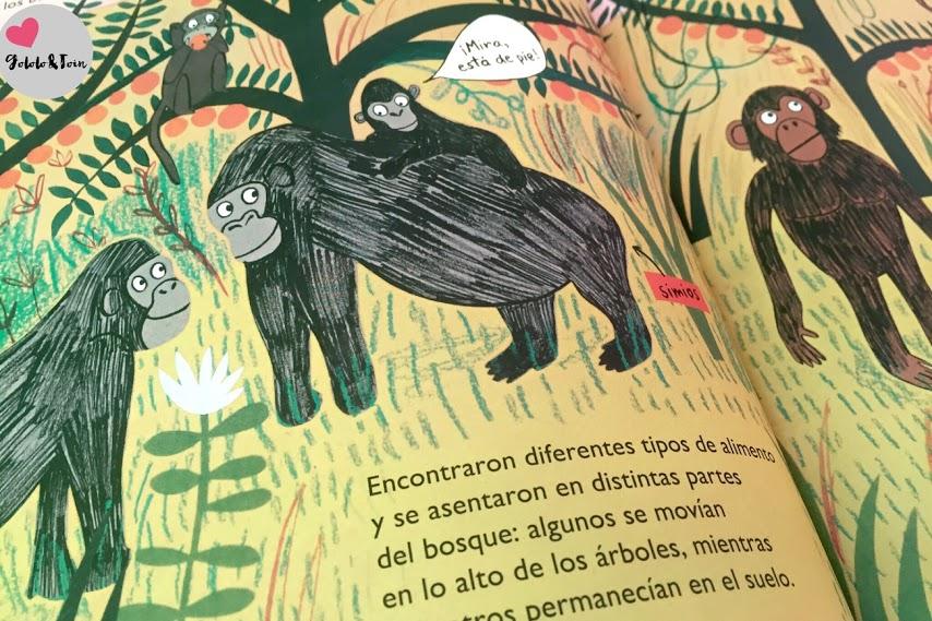SM-libro-infantil-evolución-hombre-simio-desde-entonces-hasta-ahora