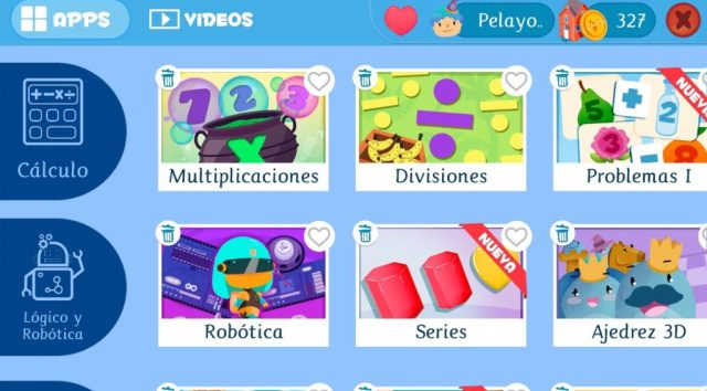 apps educativas de matemáticas de Smile and learn