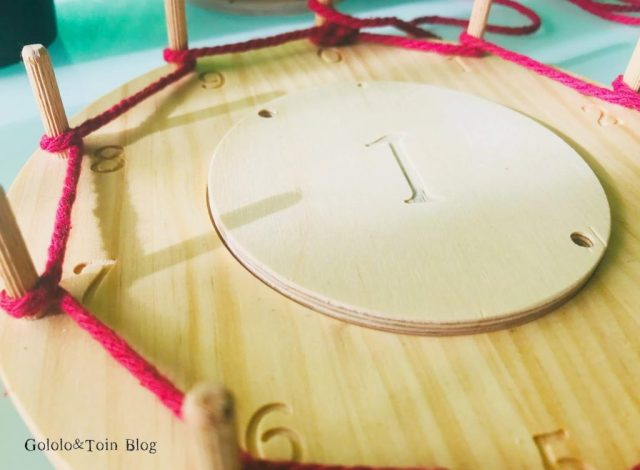 Tabla Waldorf Montessori de Fizz ideas