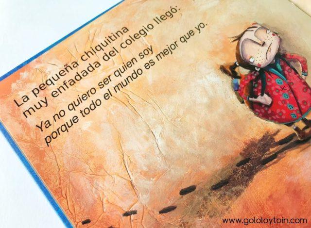 Álbum ilustrado Chiquitina