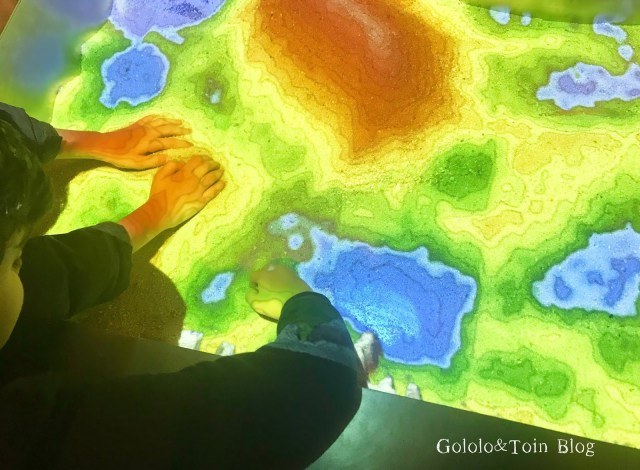 Juegos en la sala interactiva del MUNCYT