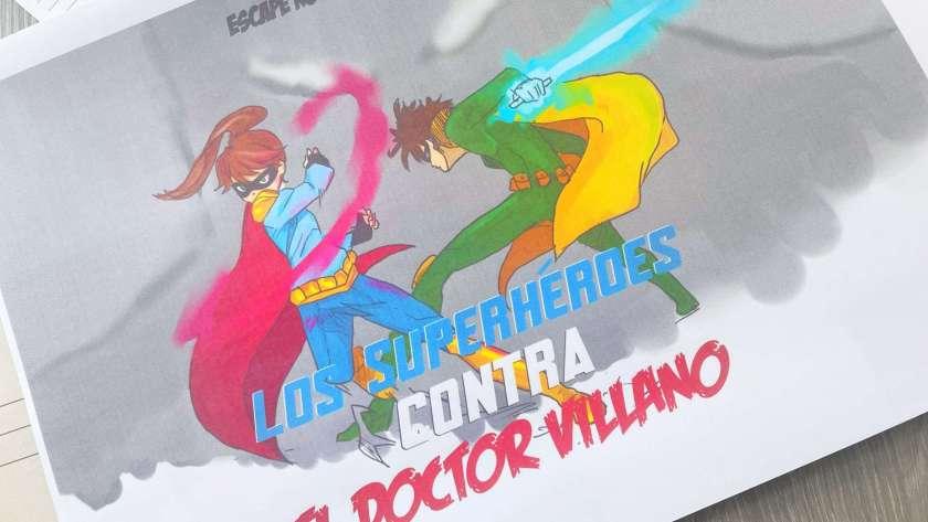Escape Room: Los superhéroes contra el Doctor Villano