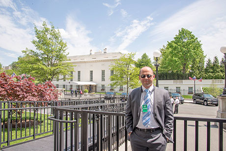 At the White House West Wing