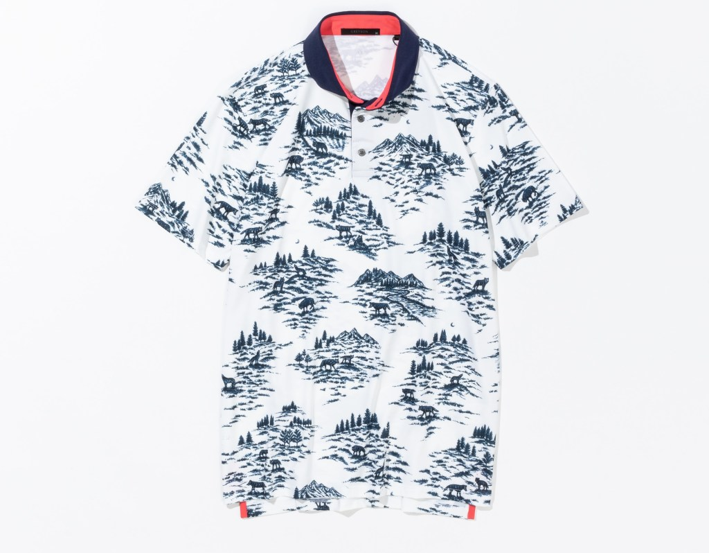 GREYSON グレイソン WOLF TOILE POLO