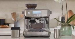 مراجعة ماكينة اسبريسو سيج باريستا برو اسعارها ومواصفاتها ومميزاتها وعيوبها