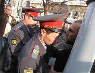 Задержание Газаряна на митинге в защиту Утриша в Краснодаре