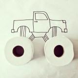 Loo roll truck © Cintascotch