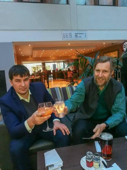 Michael Semple and Maxim Golosnoy