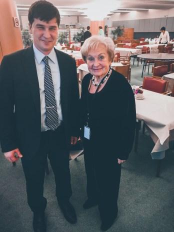 Astrid Lulling and Maxim Golosnoy