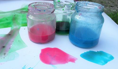 краски в домашних условиях