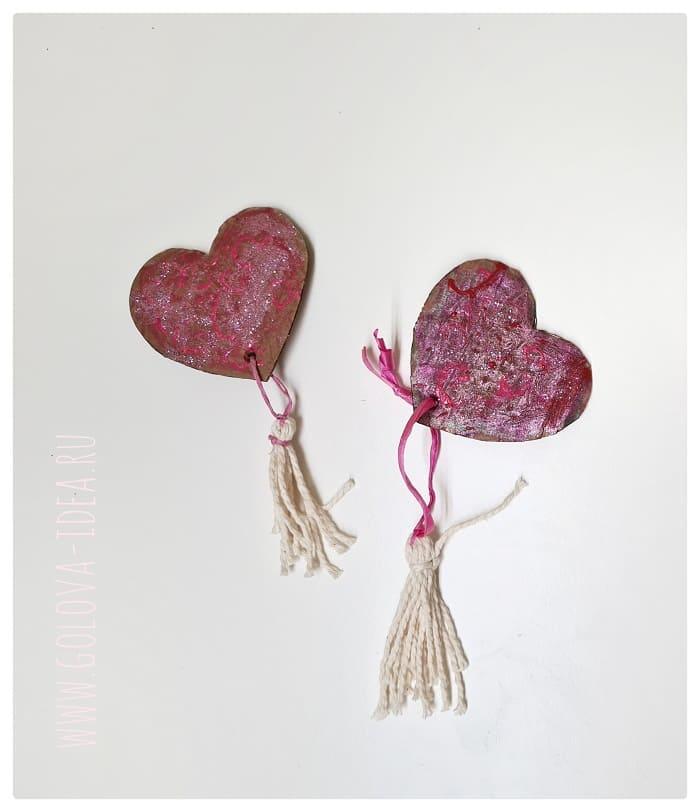 валентинка своими руками на день святого валентина