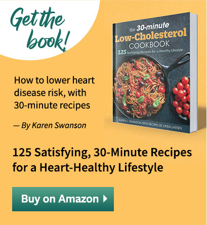 30-minute low cholesterol cookbook