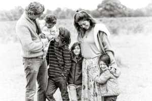 autumn family photography in teddington Richmond upon thames