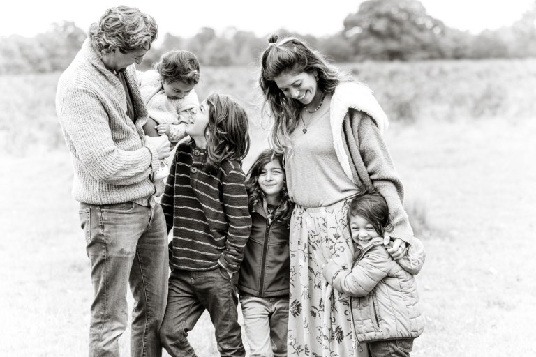 autumn family photography in teddington Richmond upon thames