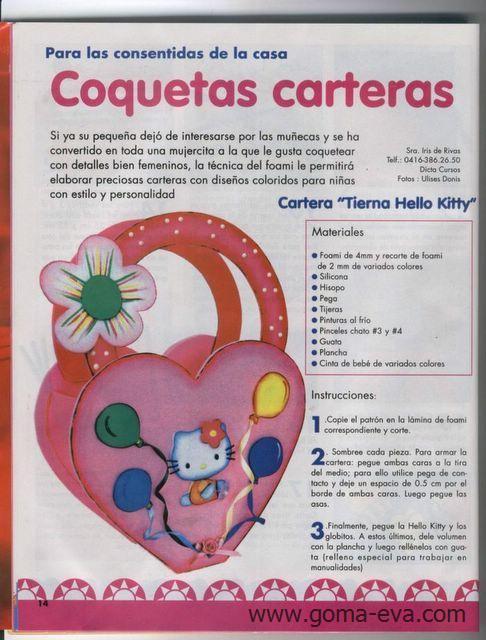 Cartera de Hello Kitty
