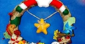 Corona country de navidad