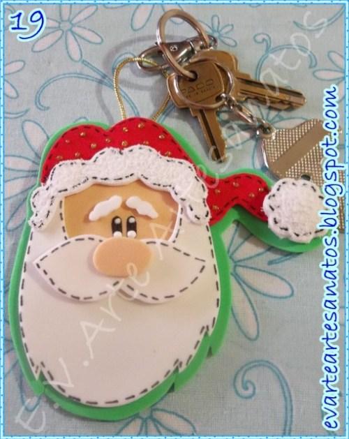 Llavero de Papa Noel