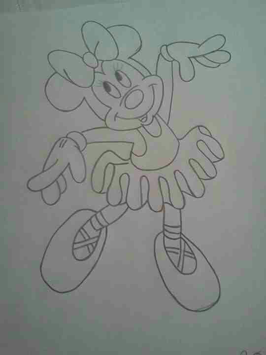 De Minnie Hacer Como De Un Mesa Centro Mouse