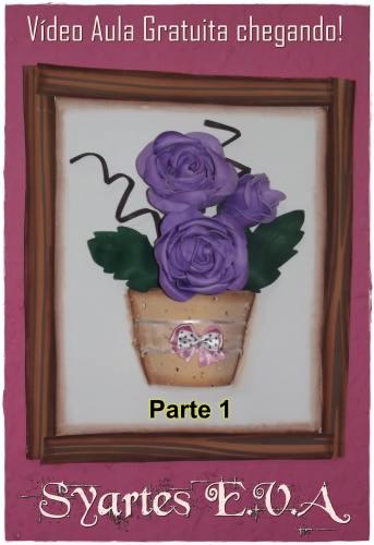 cuadro de rosas - 1