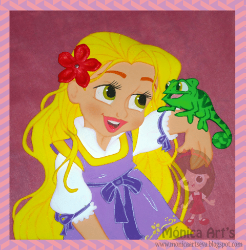 Princesa-Rapunzel