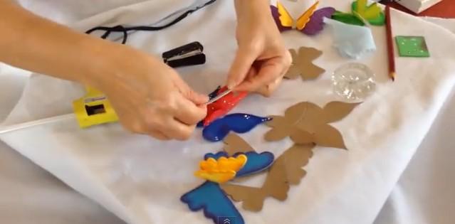 Mariposas 3D en goma eva 5