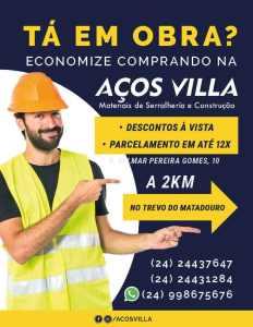 Aços Villa 1 - Aços Villa (1)