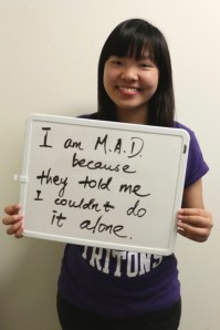 Yulin wants to make a difference because they told her she couldn't do it alone!