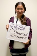 Sophia is making a difference because she dreamed too hard!