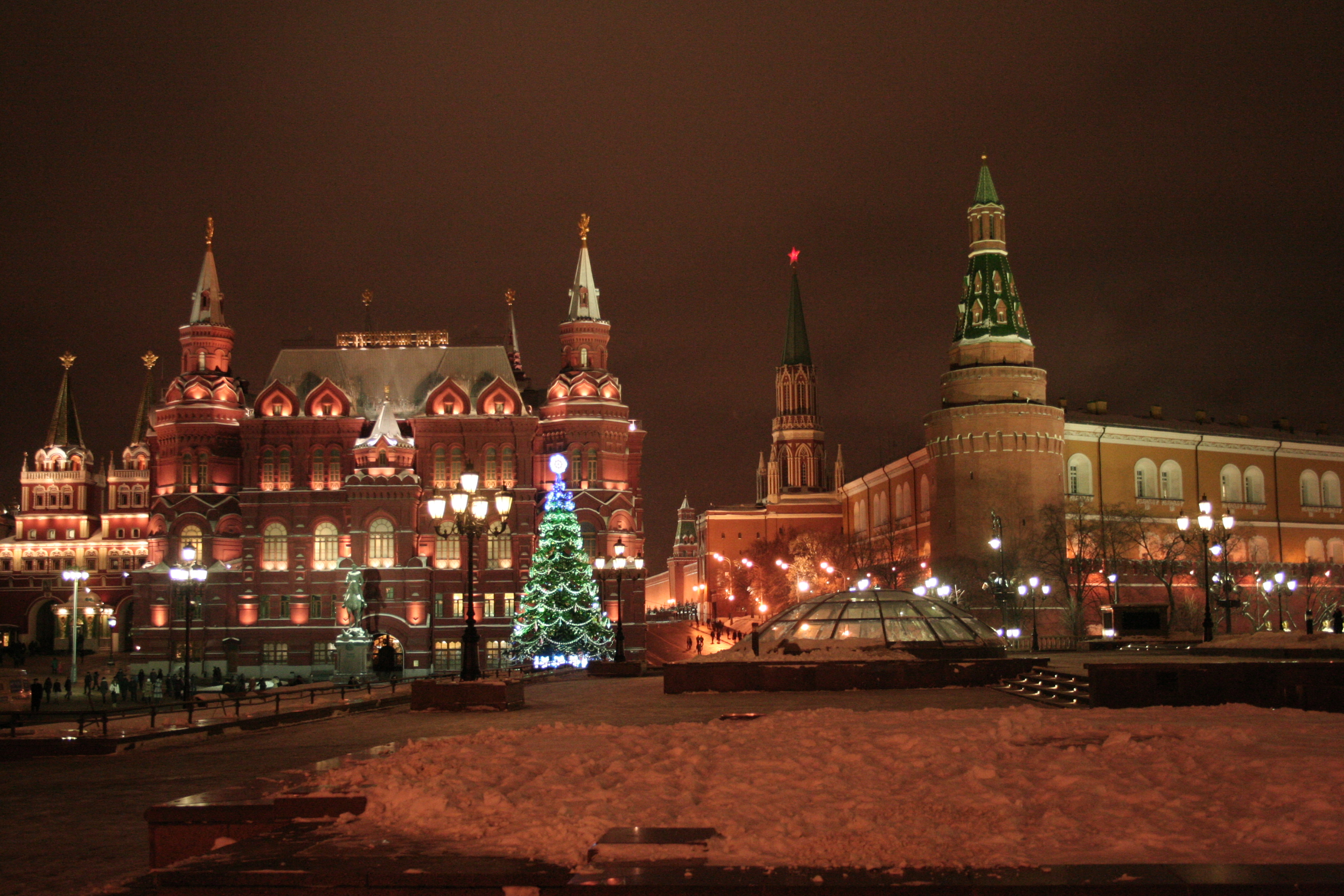 27 Beautiful Photos Of Christmas In Moscow Russia
