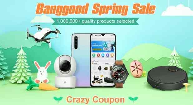 Banggood Spring Sale,Up to