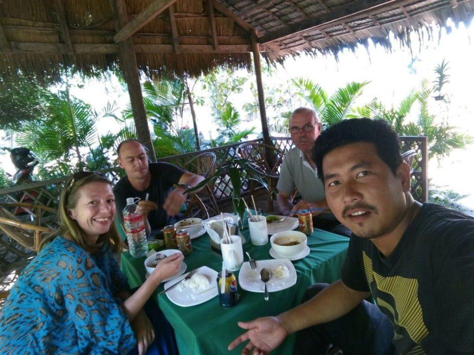 Kate, Gez, Mac & Hongda