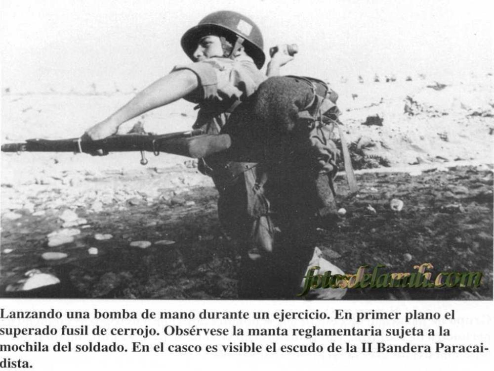 Guerra de Ifni. Las banderas paracaidistas 1957-1958 II (1/6)