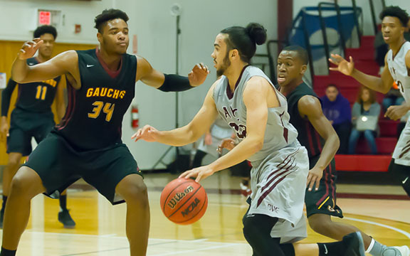 MARAUDER MEN'S BASKETBALL EXACTS REVENGE AGAINST SADDLEBACK, ADVANCES TO THIRD ROUND