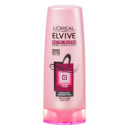 loreal elvive nutri gloss shine conditioner 200ml hair conditioner gomart
