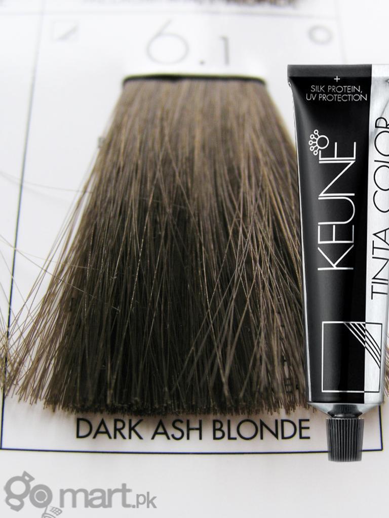 Keune Tinta Color Dark Ash Blonde 61 Hair Color Amp Dye