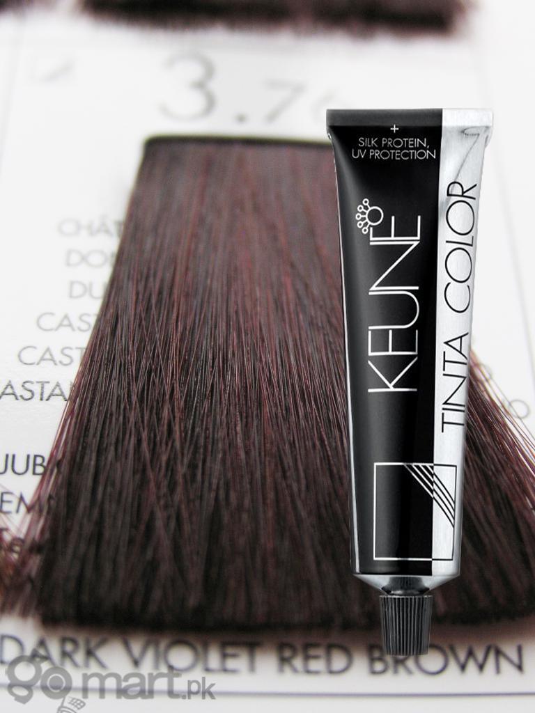 Keune Tinta Color Dark Violet Red Brown 376 Hair Color