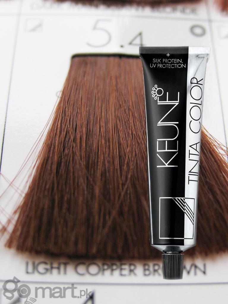 Keune Tinta Color Light Copper Brown 54 Hair Color