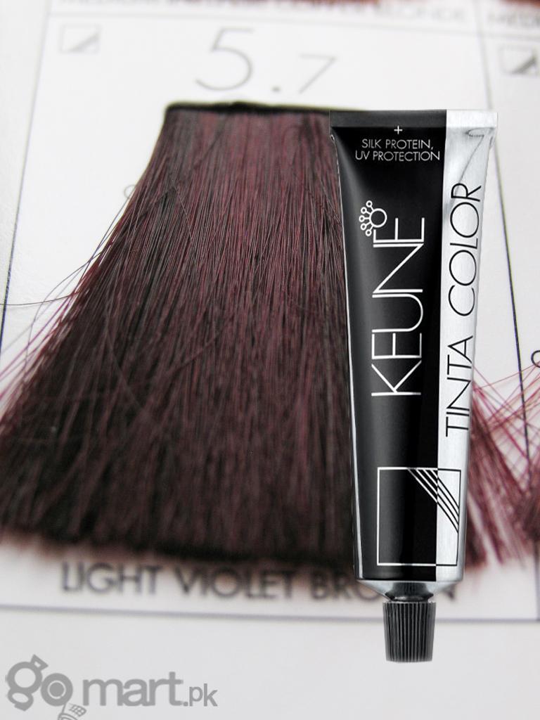 Keune Tinta Color Light Violet Brown 57 Hair Color