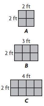 Go Math Grade 3 Answer Key Chapter 11 Perimeter and Area Extra Practice Common Core img 7