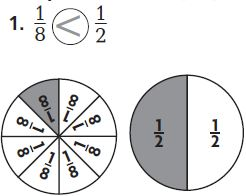 Go Math Grade 3 Answer Key Chapter 9 Compare Fractions Compare Fractions with the Same Numerator img 9