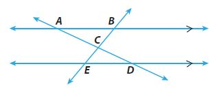 Go Math Grade 8 Answer Key Chapter 11 Angle Relationships in Parallel Lines and Triangles Lesson 3: Angle-Angle Similarity img 22