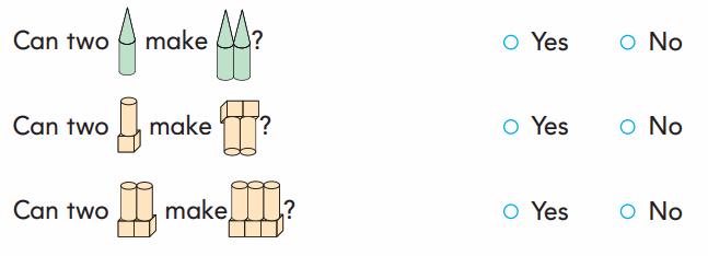 1st Grade Go Math Answer Key Chapter 11 Three-Dimensional Geometry 120.2