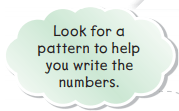 1st Grade Go Math Answer Key Chapter 6 Count and Model Numbers 6.1 3